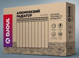 Алюминиевый и бимметалический радиатор DJOUL